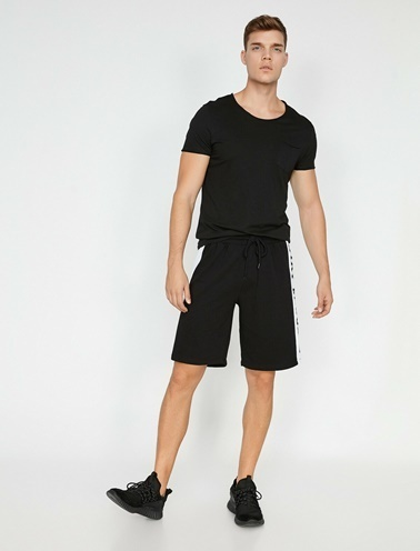 Koton Şort Siyah